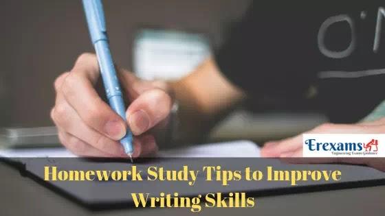 Homework Study Tips to Improve Writing Skills