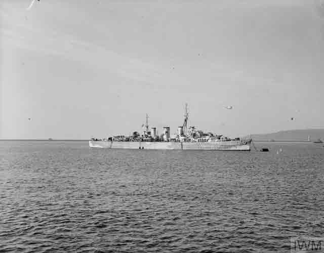 HMS Welshman in Plymouth, 25 October 1941 worldwartwo.filminspector.com