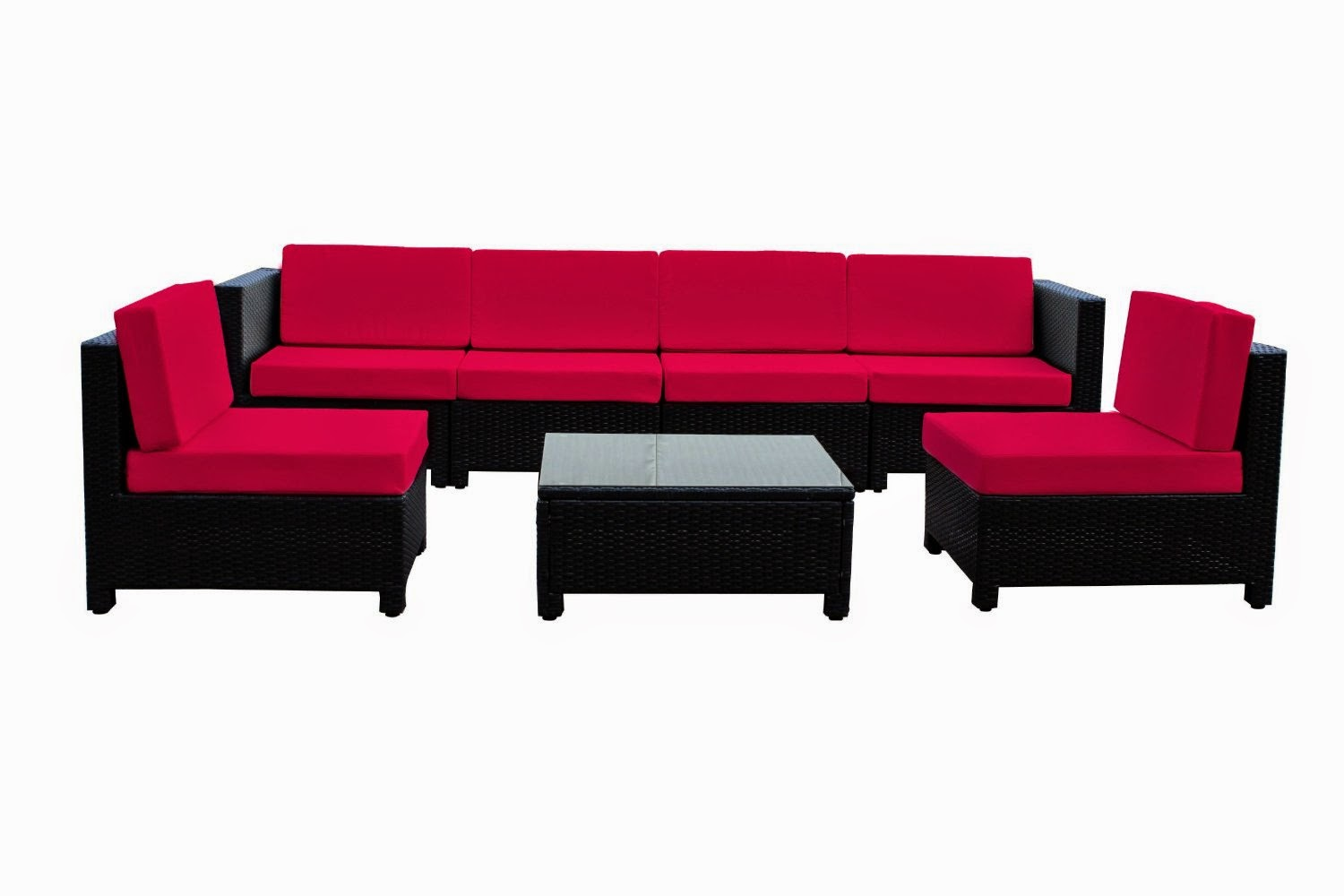 Outdoor Sofa Furniture Cheers Sectional Special Price Discount 66 7 Pcs Luxury Wicker Patio
