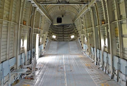 Mil Mi-26 interior