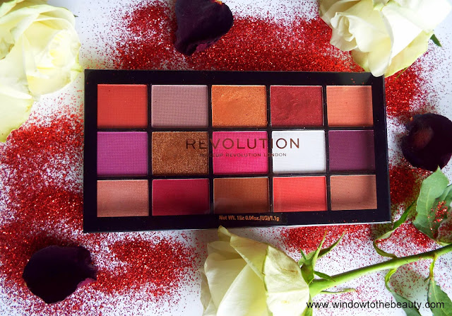 Revolution Reloaded Red Alert Palette Review & Swatches
