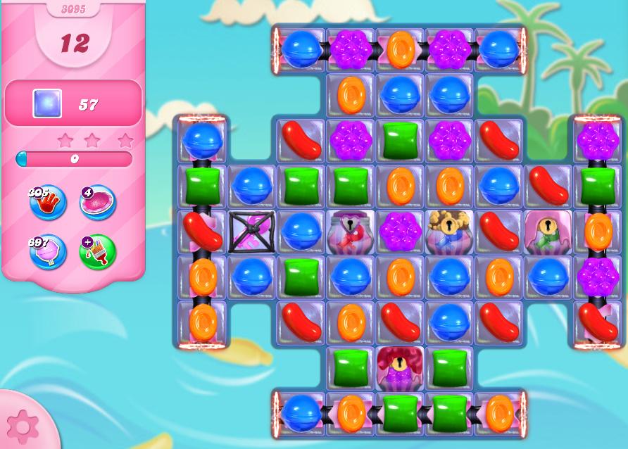 Candy Crush Saga level 3095