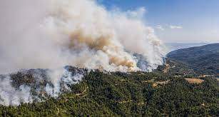 evia marmari wildfires