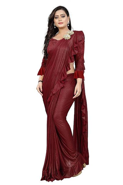 Lycra Silk Saree