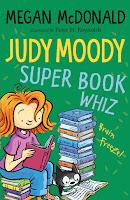 Judy Moody, Super Book Whiz by Megan McDonald cover