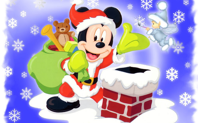 Cute Disney Christmas Wallpapers
