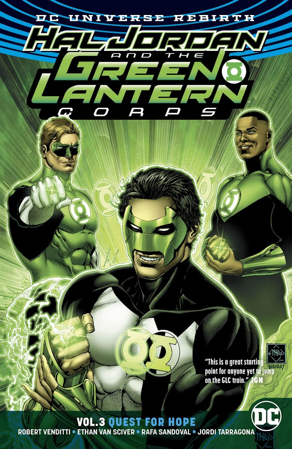 hal jordan and the green lantern corps ethan van sciver