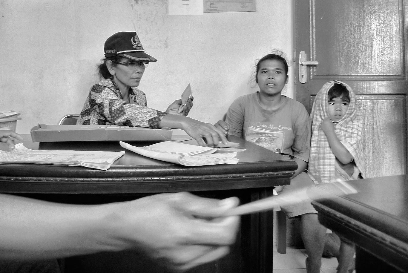 Kantor Camat Sitiotio kabupaten Samosir