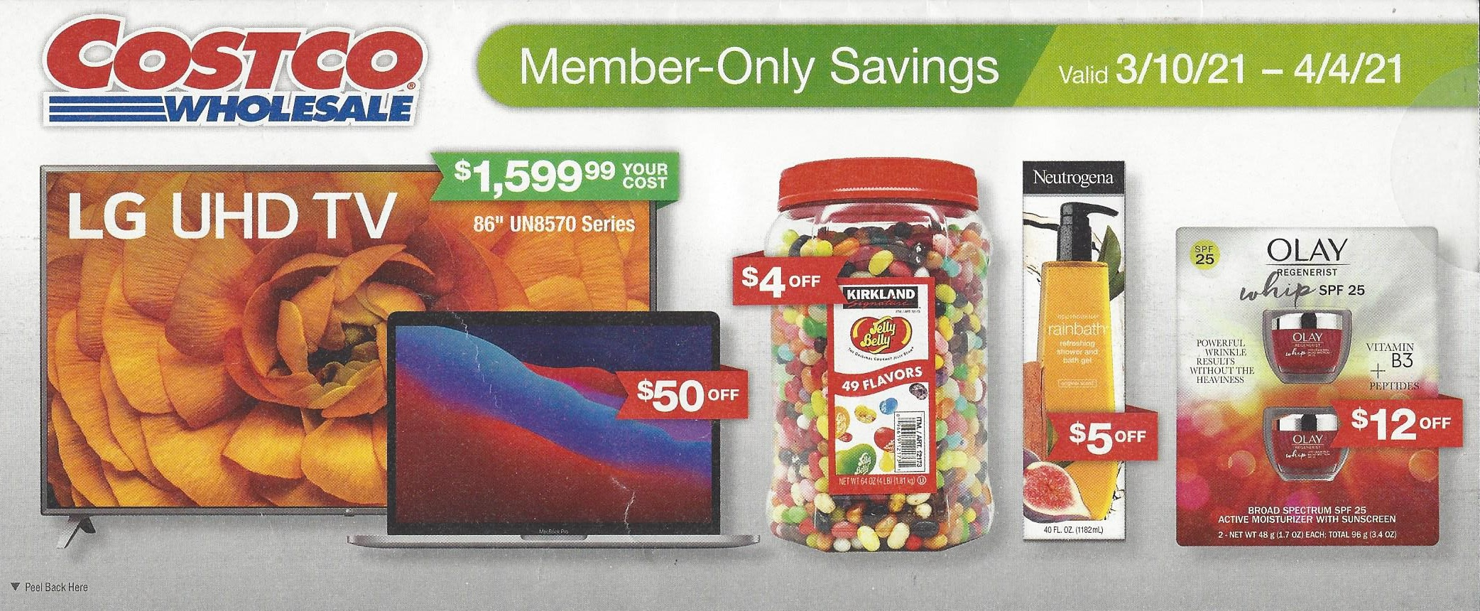 March 2021 Costco Coupon Book