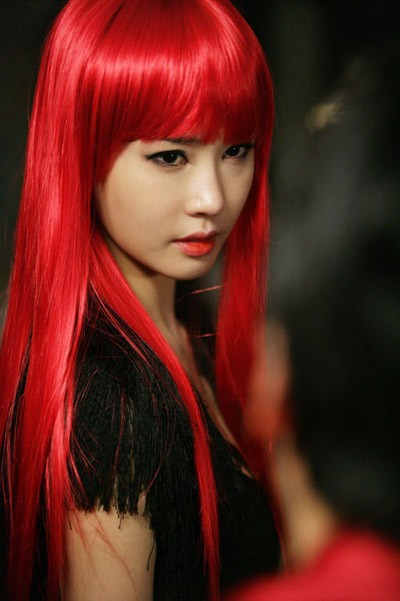 Fantastic Hair Color Ideas: bright red hair color