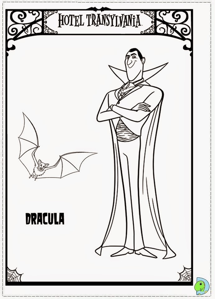 Hotel Transylvania 2 2015 Coloring Pages Coloring Pages