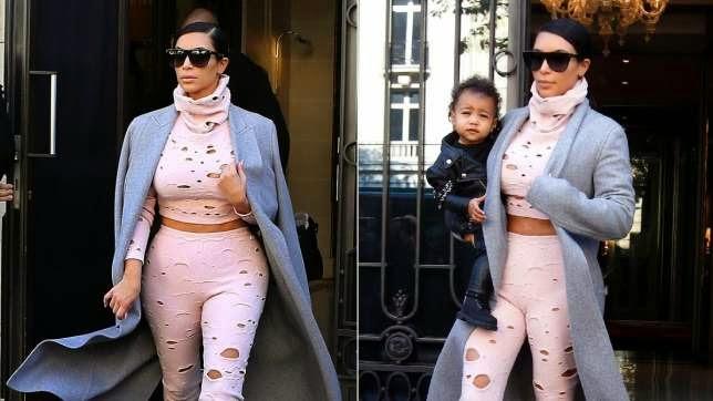 kim kardashian forgot daughter