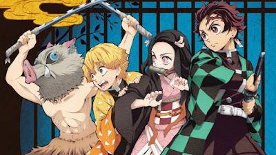 Demon Slayer Main Characters: Inosuke, Zenitsu, Nezuko, Tanjiro