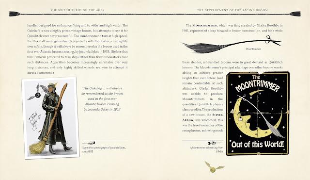 Confira as capas e algumas páginas da nova edição ilustrada de 'Quadribol Através dos Séculos' | Ordem da Fênix Brasileira
