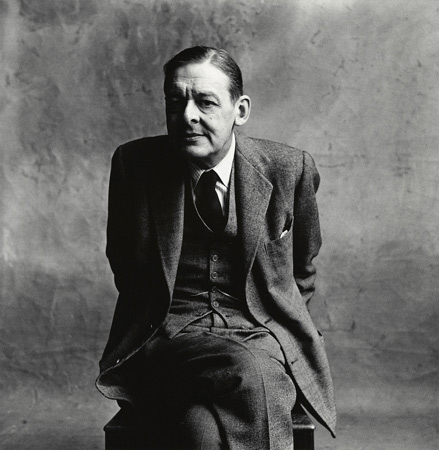 T.S. Eliot (A), London, 1950,  by  Irving Penn
