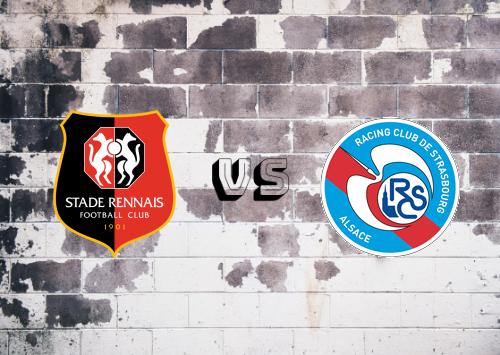 Rennes vs Strasbourg  Resumen