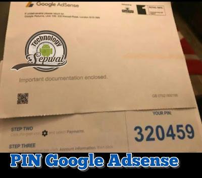 Pengalaman Pertama Verifikasi Nomor Pengenal Pribadi (PIN) Google Adsense