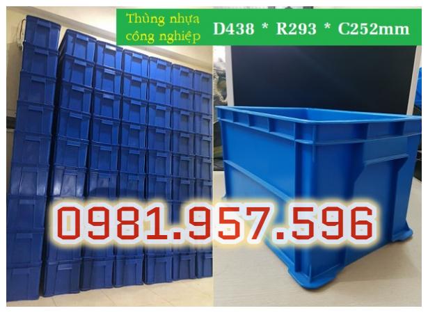 Hộp nhựa công nghiệp, sóng nhựa bít, hộp nhựa cao