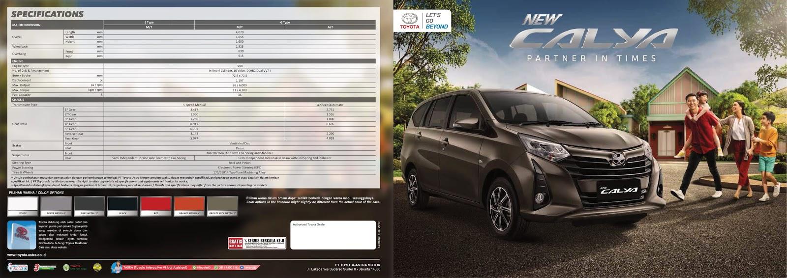 New Calya - Info Promo & Harga Toyota Calya Bali 2020