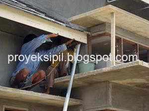 Lisplang Kanopi Baja Ringan Proyek Sipil Cara Memasang Pada Rangka Atap