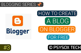 how to create a blog without investment