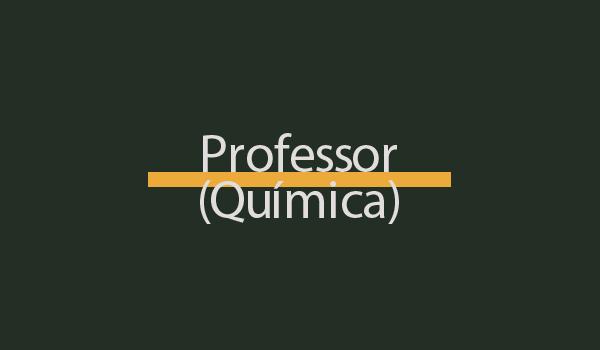Prova de Concurso para Professor (Química) com Gabarito