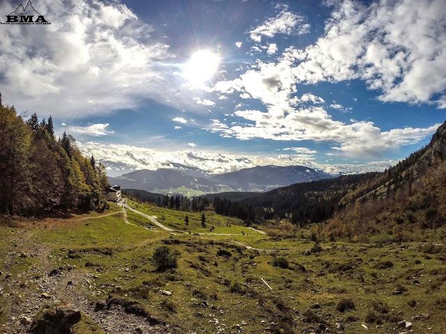 wandern tirol - ellmau wochenbrunner alm