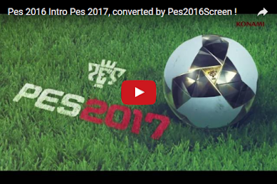 PES 2016 Intro PES 2017 Control Reality