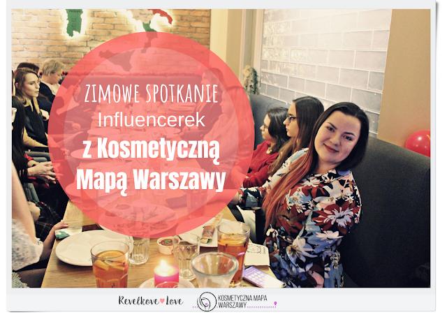 Zimowe spotkanie z Kosmetyczną Mapą Warszawy w Pizzerii Dominium na Nowym Świecie