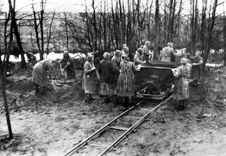 Fotografía del campo de concentración de Ravensbrück