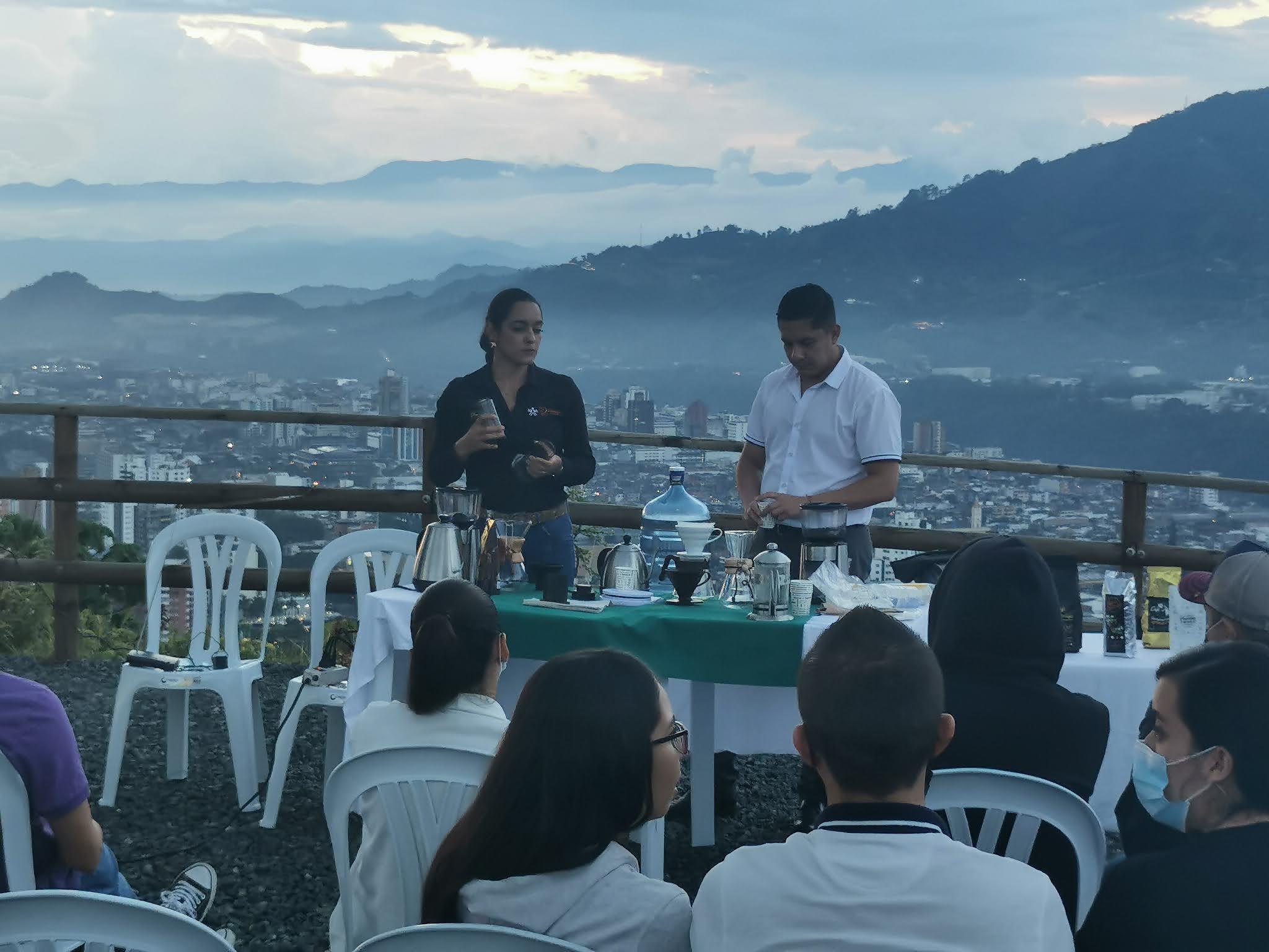 Cerro Canceles fue escenario para aprender a preparar un buen café de origen