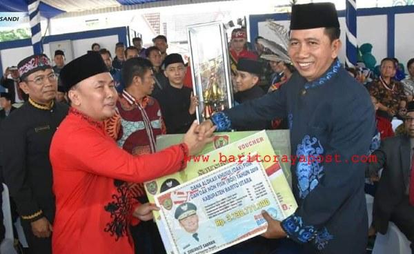 Kabupaten Barito Utara Raih BerbagaiPenghargaan