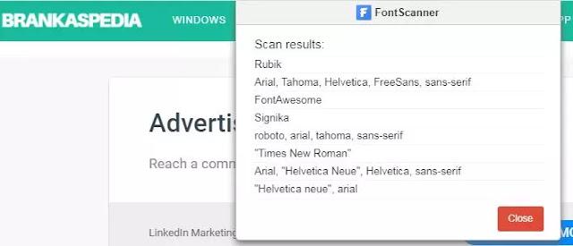 Ekstensi Chrome Terbaik untuk Mengidentifikasi font-4