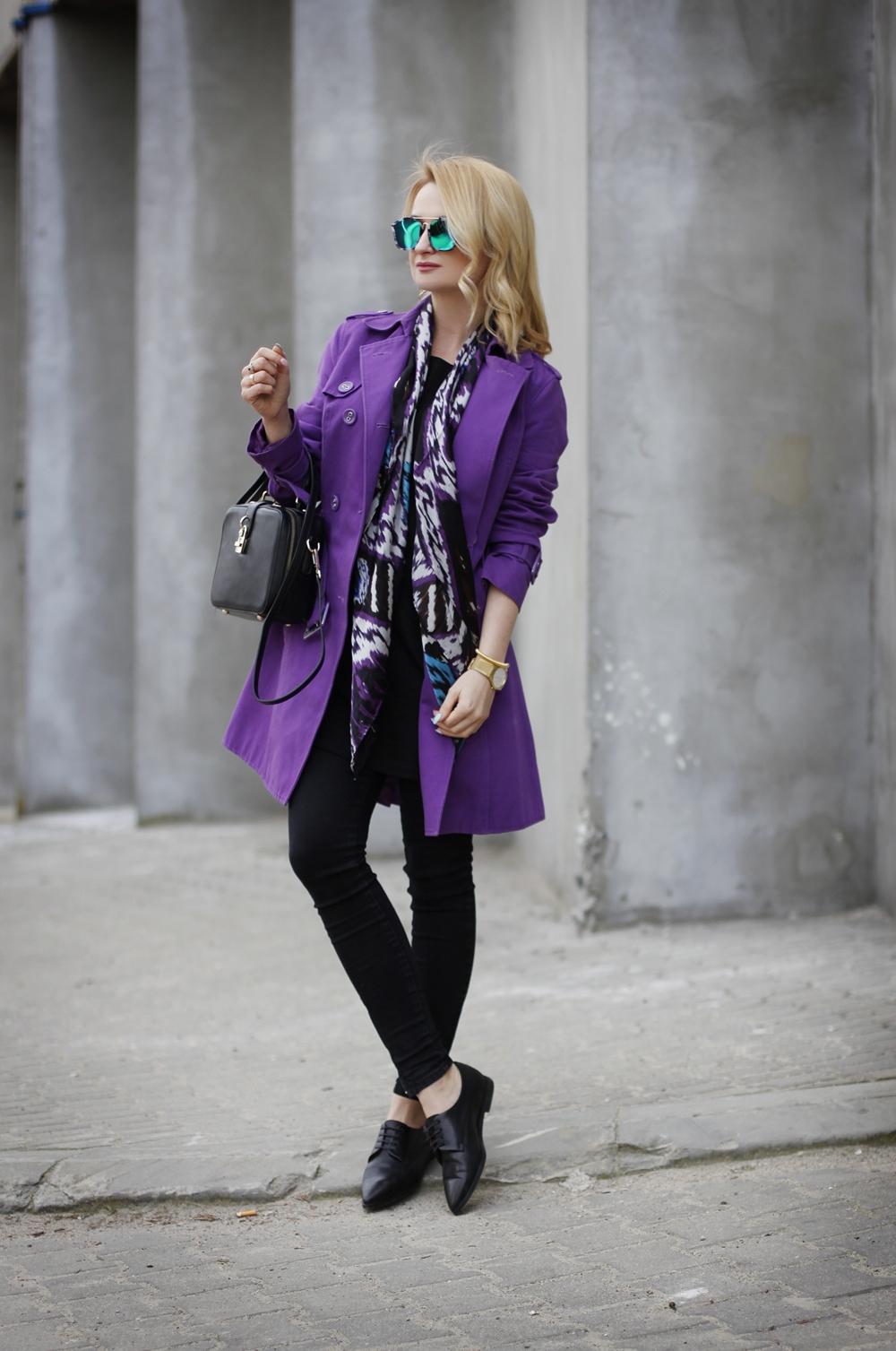 Violet Trench