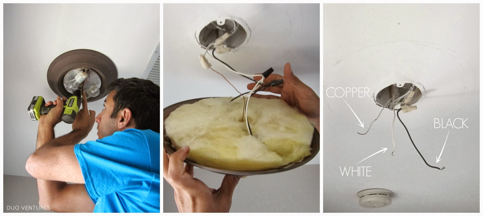 Duo Ventures  How to Install  IKEA ALANG Ceiling Lamp Thursday  December 20  2012