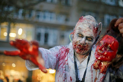 """""""الهالوين"""" احتفالات مرعبة بالصور حول العالم فى ألمانيا"""