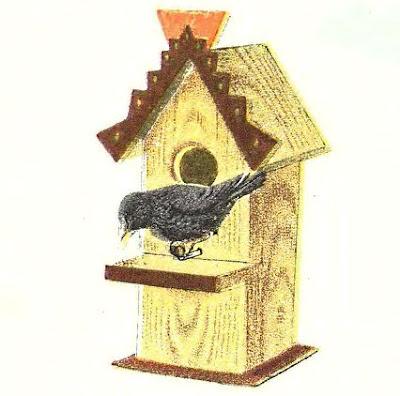 Как сделать механическую игрушку-птицу
