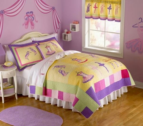 dormitorio niña colores pastel
