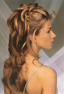 Superb Bridal Party Hairstyles For Long Hiar With Veil Half Up 2013 For Short Hairstyles Gunalazisus