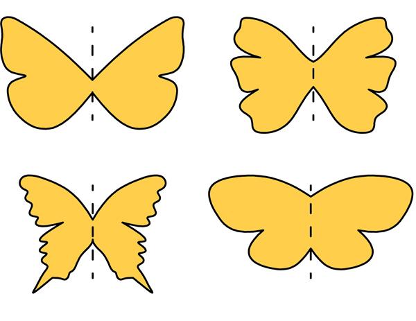 σχήμα πεταλούδας