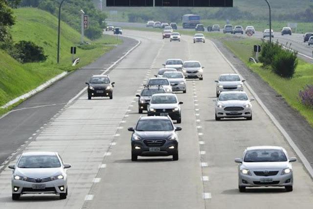 Rodovias tem avanço de 6,3% no fluxo de pedágios em 2019