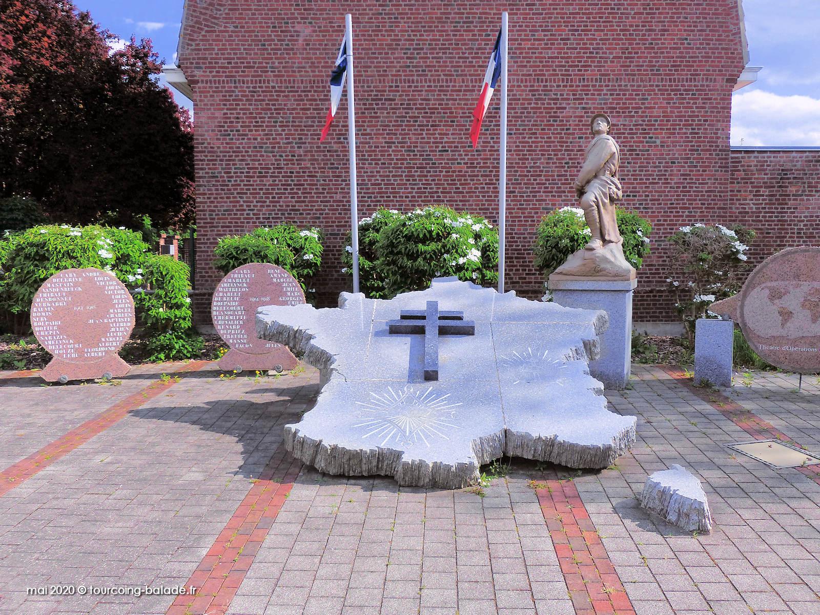Monument aux Morts, Templemars 2020