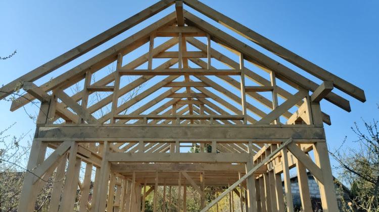 konstrukcja domu szkieletowego