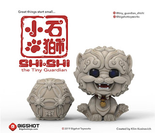 Shi-Shi the Tiny Guardian Kickstarter from Bigshot Toys