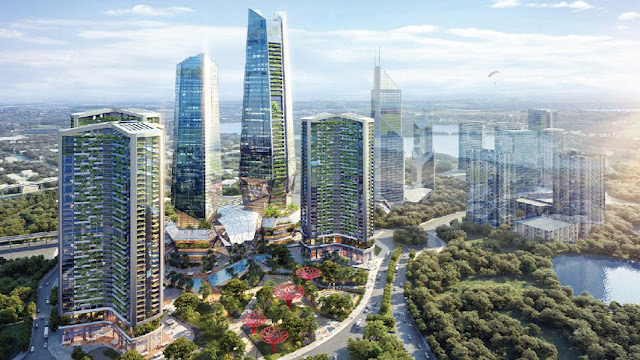 Dự án Sunshine KS Finance Hà Nội Ciputra chung cư Tây Hồ Tây - Chủ đầu tư Sunshine Group