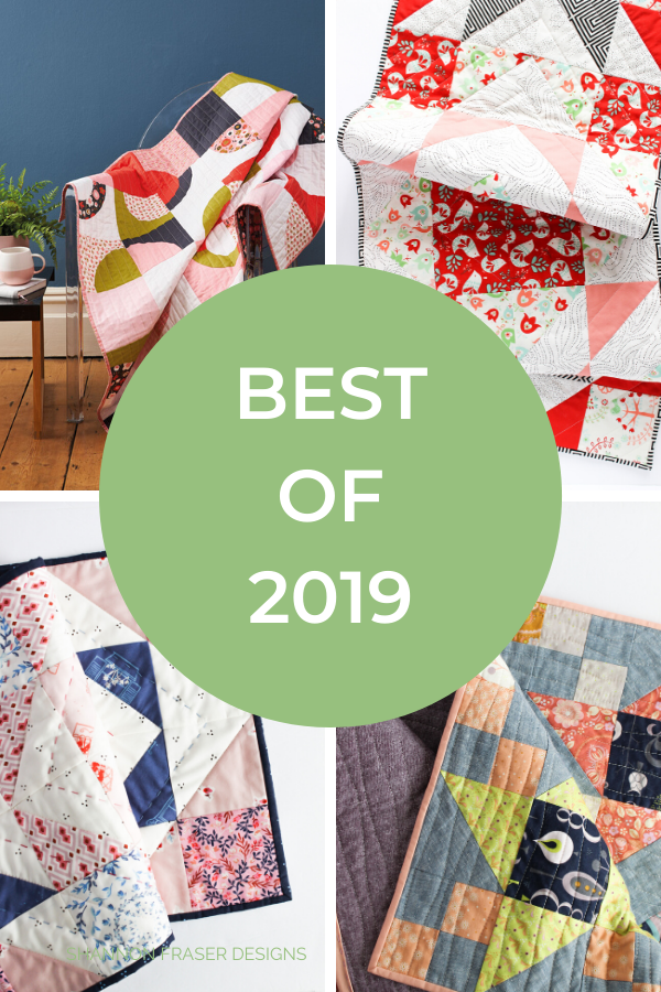 Best of 2019 | Shannon Fraser Designs #bestof2019 #quilts #modernquilts