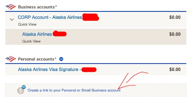 Bank of America Now Allows Linking Eligible Business and Personal Accounts Including Credit Card Accounts All In One Place