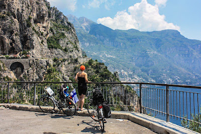 cycling amalfi coast italy full carbon road bike rental in sorrento amalfi maiori minori ravello