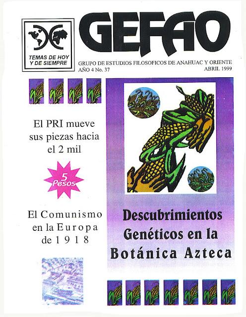 Descubrimientos Geneticos en la Botanica Azteca