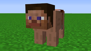 Minecraft cursed meme - pig steve HD